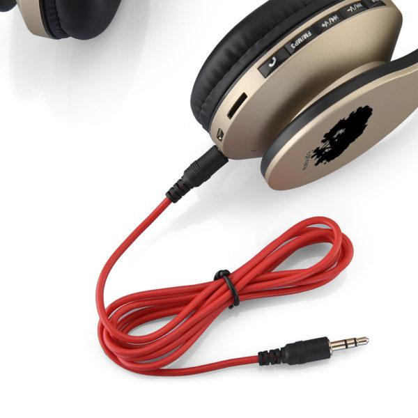 casque-sans-fils-Bluetooth-Ephrata-fonction-appel-Distance-10m-Radio-Batterie-intégrée-or