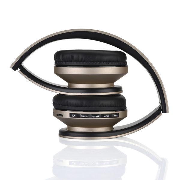 casque-sans-fils-Bluetooth-Ephrata-fonction-appel-Distance-10m-Radio-Batterie-intégrée-or-plié-600×600