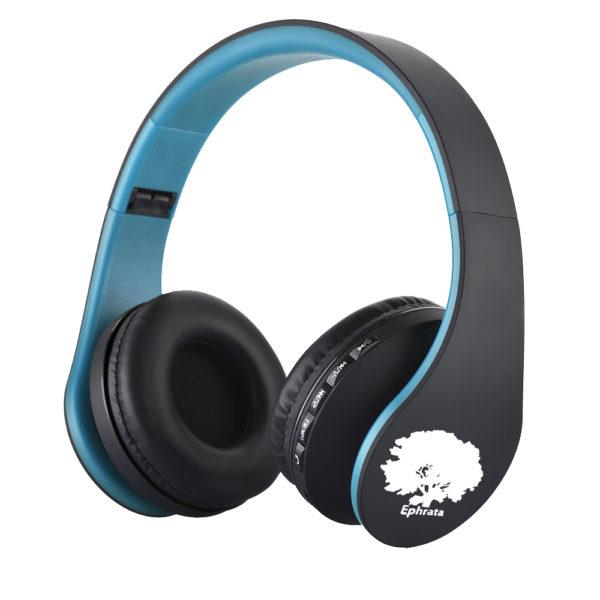 casque-gospel-sans-fils-Bluetooth-Ephrata-fonction-appel-Distance-10m-Radio-Batterie-intégrée-bleu