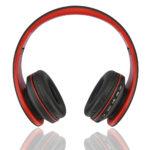 casque-sans-fils-Bluetooth-Ephrata-fonction-appel-Distance-10m-Radio-Batterie-intégrée-rouge-face