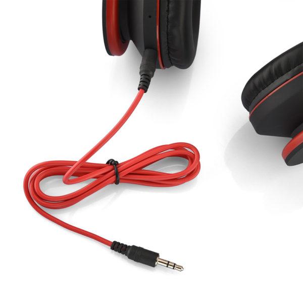 casque-sans-fils-Bluetooth-Ephrata-fonction-appel-Distance-10m-Radio-Batterie-intégrée-rouge-fils
