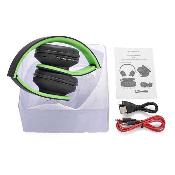 casque-sans-fils-Bluetooth-Ephrata-fonction-appel-Distance-10m-Radio-Batterie-intégrée-vert-pack