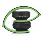 casque-sans-fils-Bluetooth-Ephrata-fonction-appel-Distance-10m-Radio-Batterie-intégrée-vert-plier
