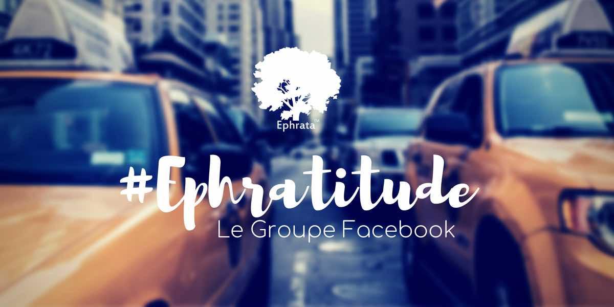 ephratitude le groupe de la marque sur facebook